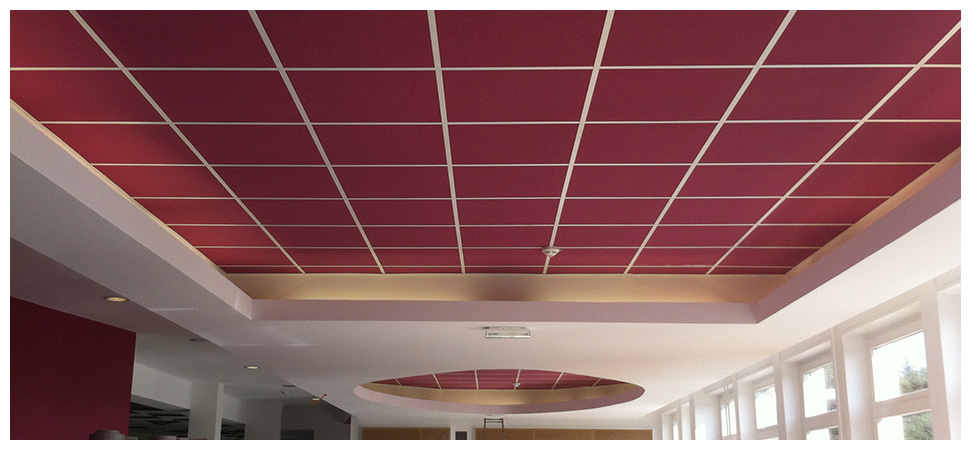 Plafonds suspendus botta sas for Plafond suspendu dalles